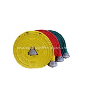 EUROFLEX TXS FIREFIGHTING PRESSURE HOSE 52-C WITH STORZ COUPLINGS