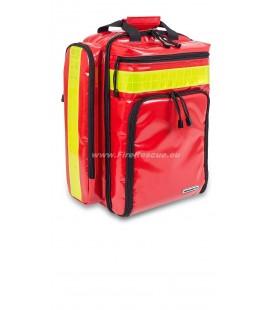 ELITE BAGS EMS BACKPACK RESCUE TARPAULIN - RED