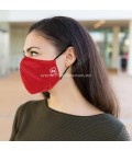 PROTECTIVE MASK WITH FILTER FOR ADULT - RED
